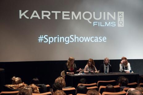 spring showcase panel